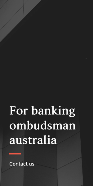 banking ombudsman australia